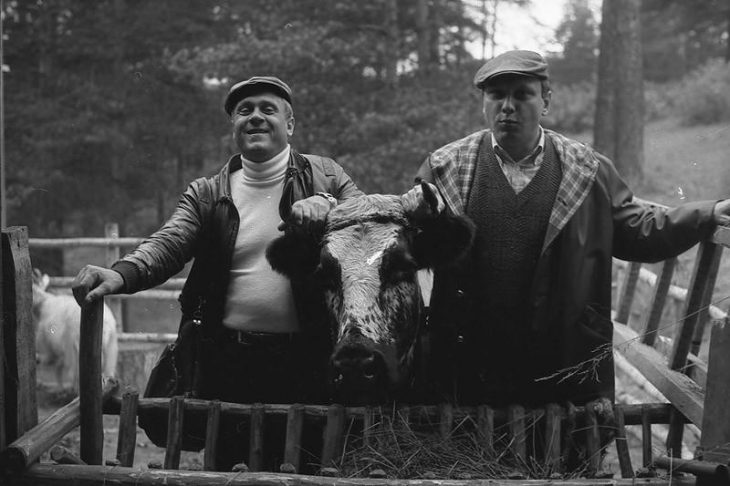 Пора пора порадумся: редчайшие кадры со съемок советских фильмов