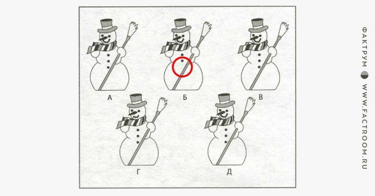 Невероятная головоломка про снеговиков, ответ накоторую сильно удивит вас!