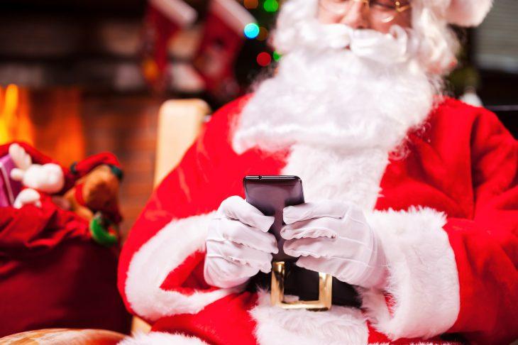 Деду Морозу можно позвонить! Ребёнок будет ввосторге!