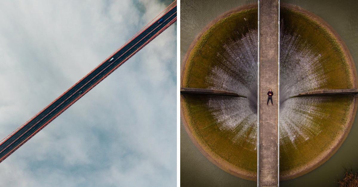 Умопомрачительные фотографии, снятые при помощи дронов