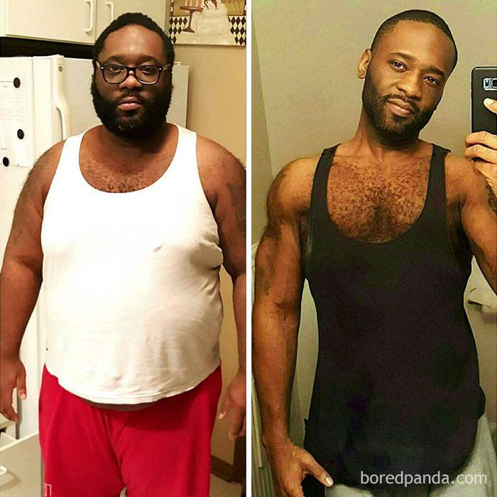 92 килограмма за 2 года: поразительные достижения худеющих людей
