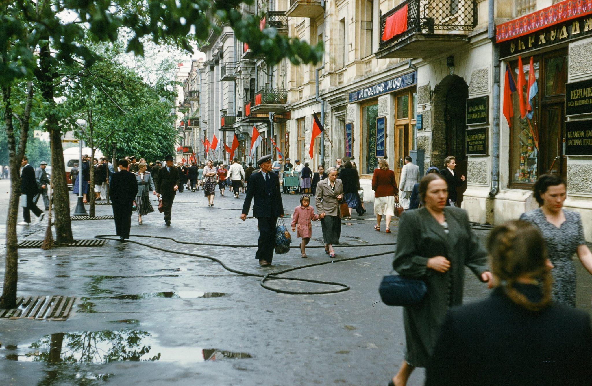 Советский союз глазами американца Мартина Манхоффа: 10 крутейших фото