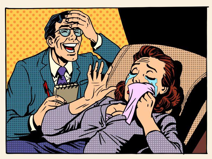 Уморительные анекдоты про семейные отношения, вызывающие громкий смех