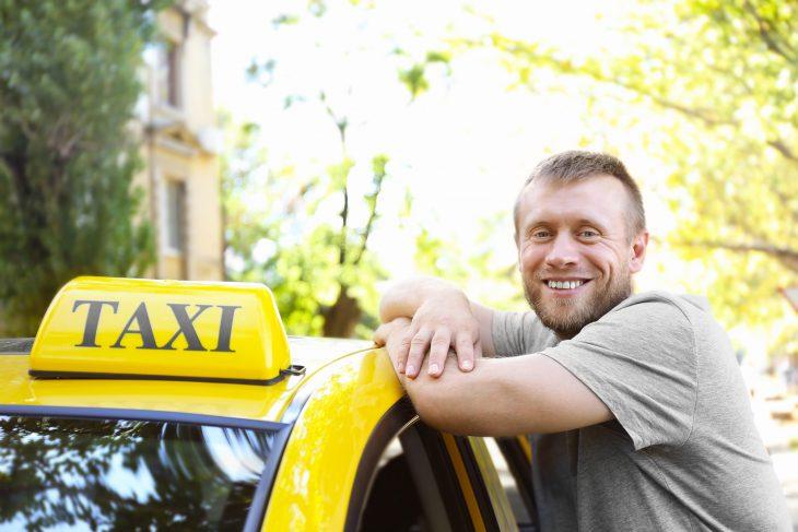 Таксист попался с чувством юмора
