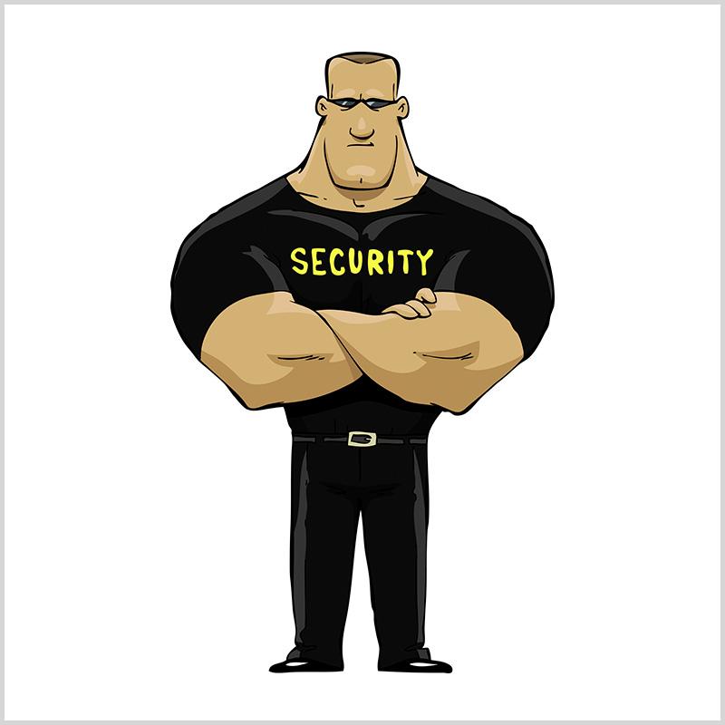 прикольные картинки про охрану последнее время