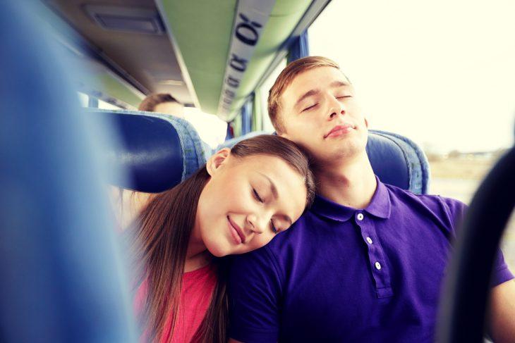 Подруга рассказала смешной случай, произошедший с ней в автобусе