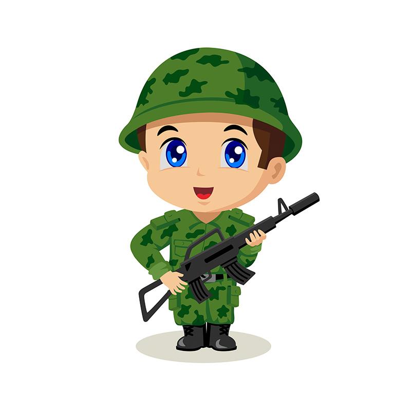 Картинка веселый солдат