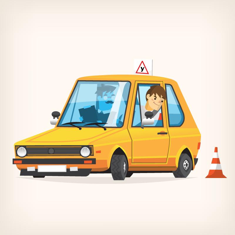 Смешные картинки по вождению, красная осень