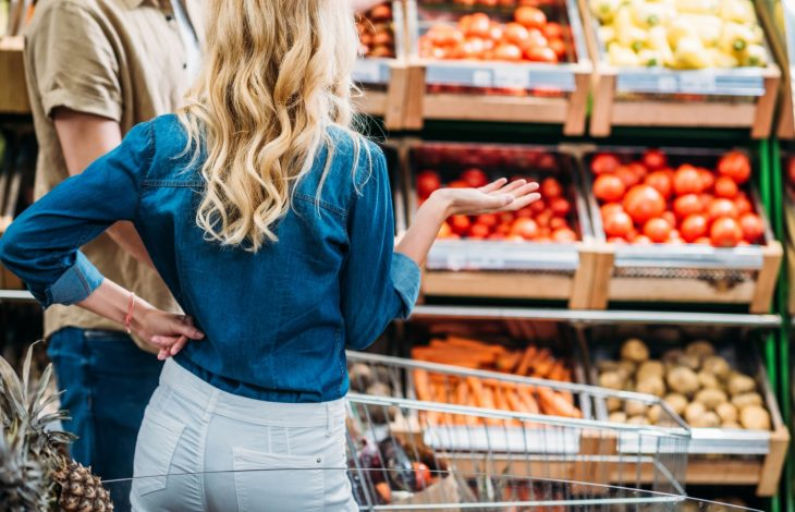 Тележка изсупермаркета как повод для скандала