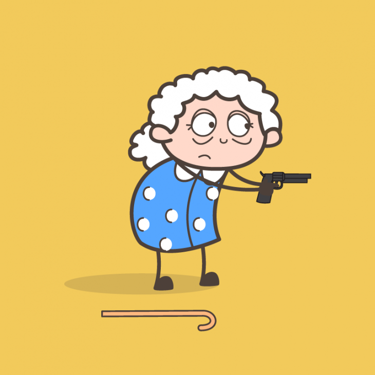 Анекдот про бабулю, сильно разочарованную всвоих ожиданиях