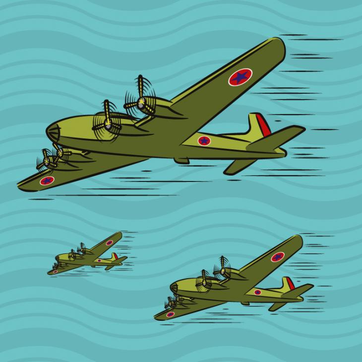 Занятный анекдот про спор трёх военных пилотов