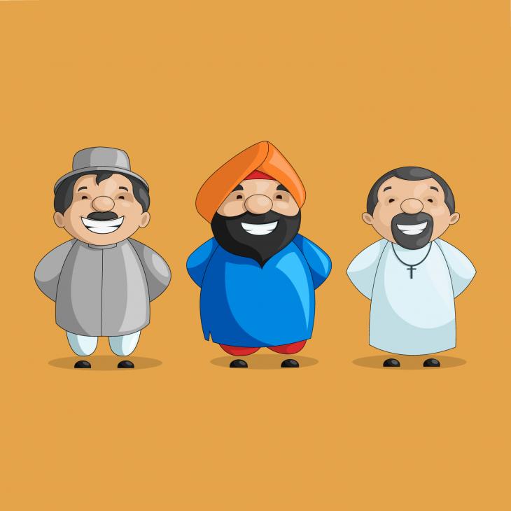 Анекдот про трёх стыдливых стариков, попавших в неприятную ситуацию