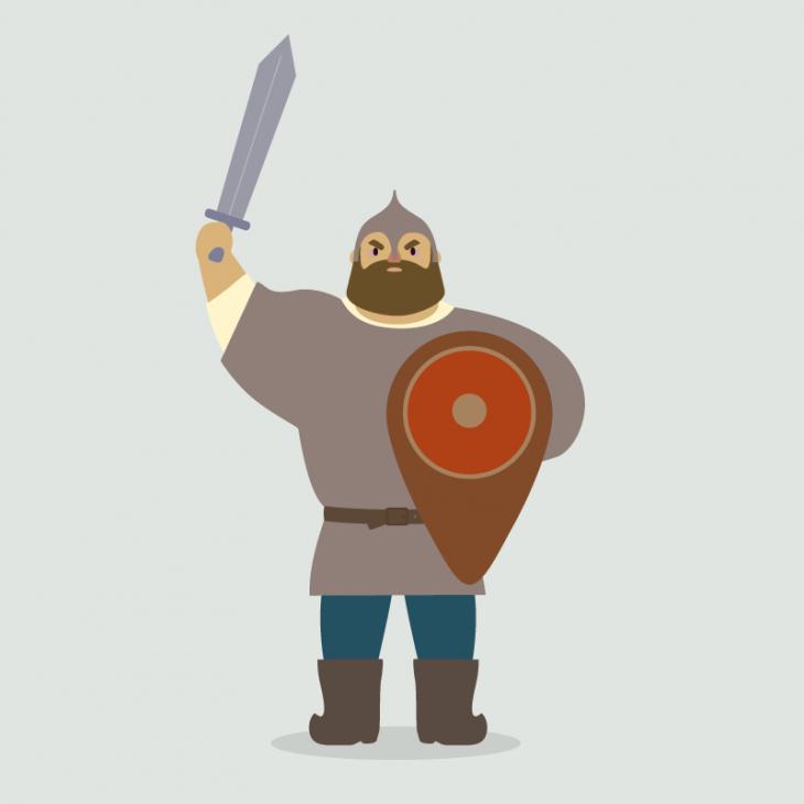 Анекдот про богатыря, «хорошо» отплатившего Горынычу зауслугу