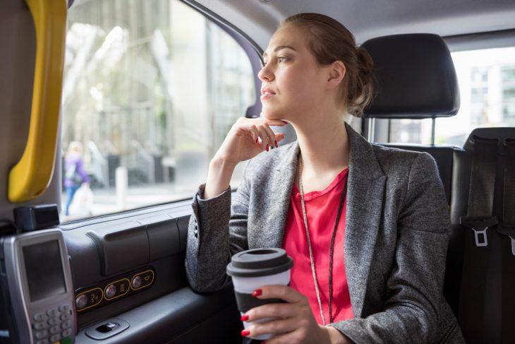 Весеннее обострение уклиентки такси
