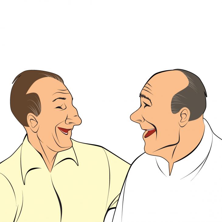 Анекдот про двух «братков» иихкрутых собачек