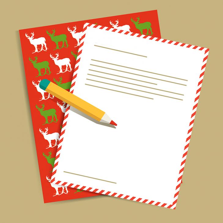 Анекдот про работников почты и письмо Дедушке Морозу