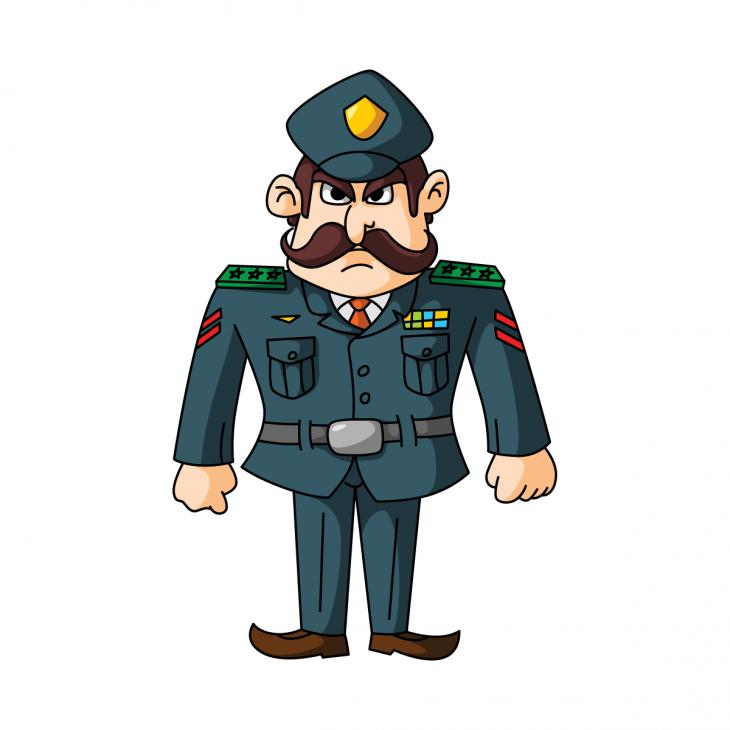 Анекдот про важного генерала инаходчивого солдата
