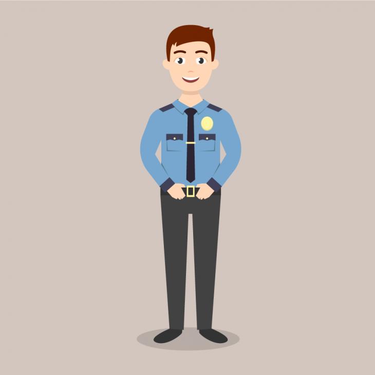 Анекдот про полицейского илекцию оправилах дорожного движения