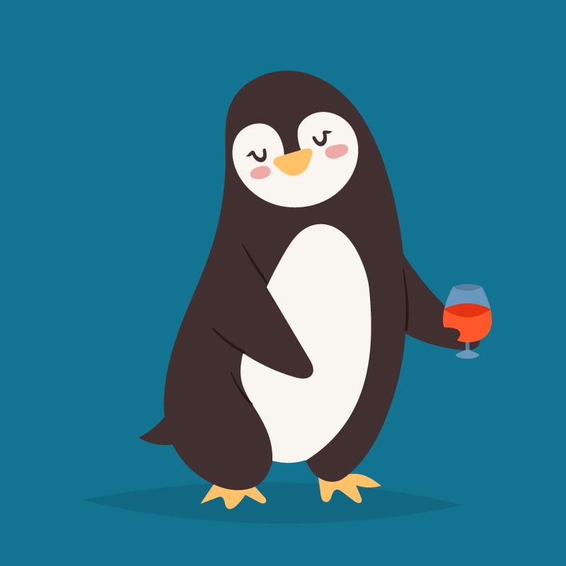 пингвины забавные картинки рисунки наберетесь сил хорошего