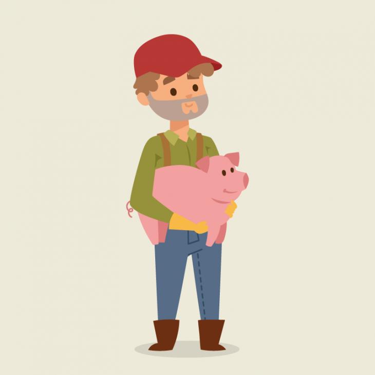 Анекдот про фермера инеоценимую помощь отправительства
