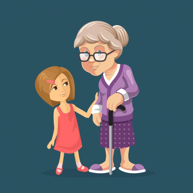 Анекдот про девочку, озадачившую бабушку странным вопросом