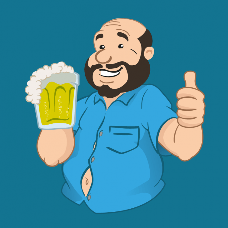 Анекдот про советского мужика, который пиво бесплатно раздавал