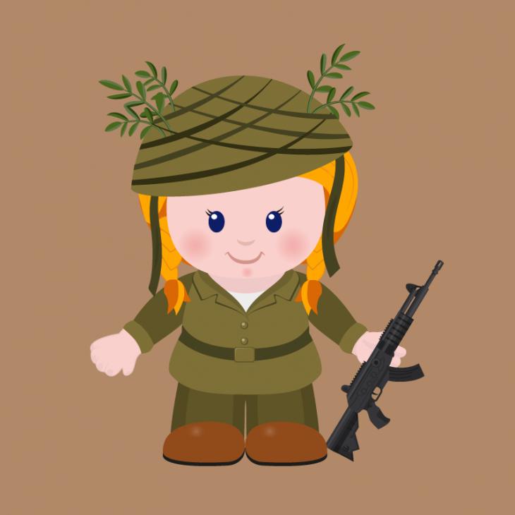 Анекдот про армейскую службу женщин вИзраиле