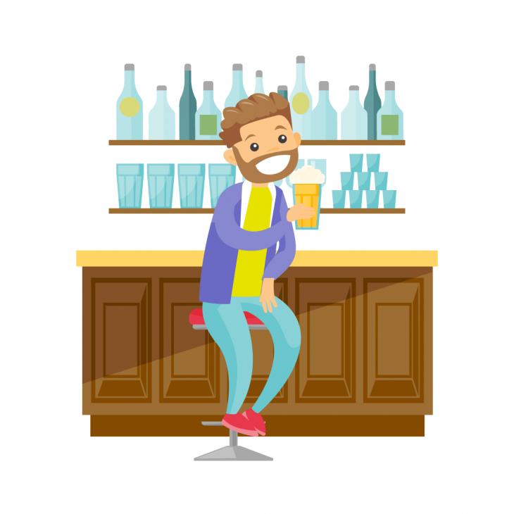 Анекдот про бар ссамой дешёвой выпивкой изакуской
