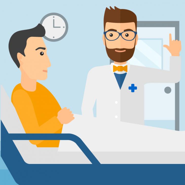 Анекдот про самовнушение на приёме у врача
