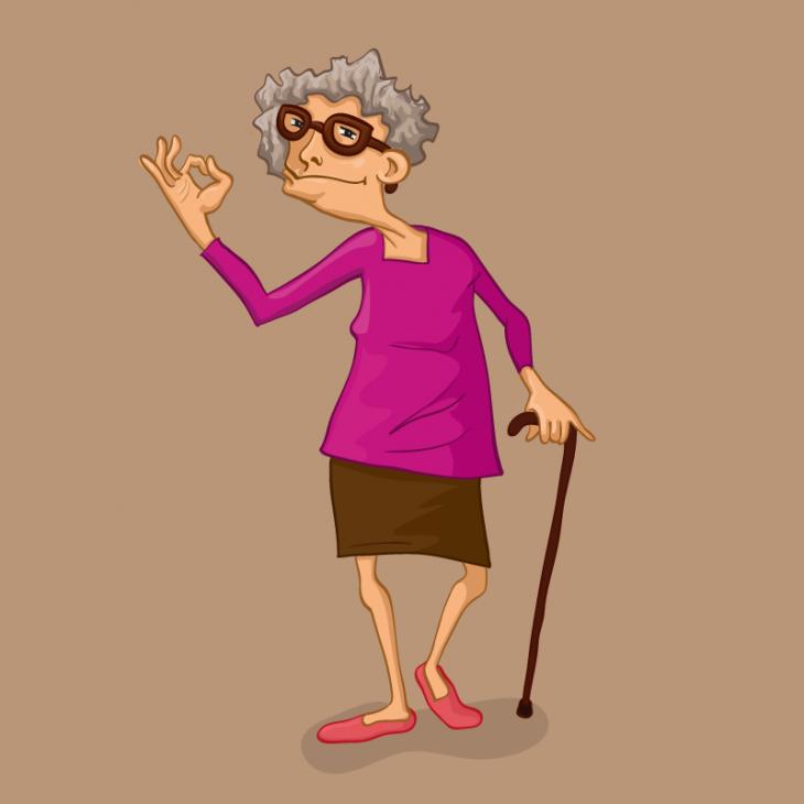 Анекдот про бабушку, обожавшую спорить сразными людьми
