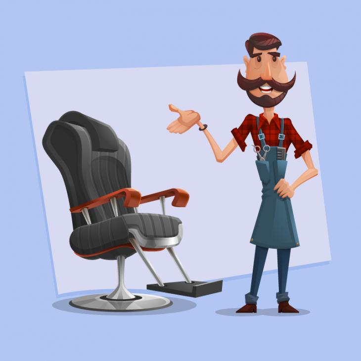 Анекдот про доброго парикмахера, занявшегося благотворительностью