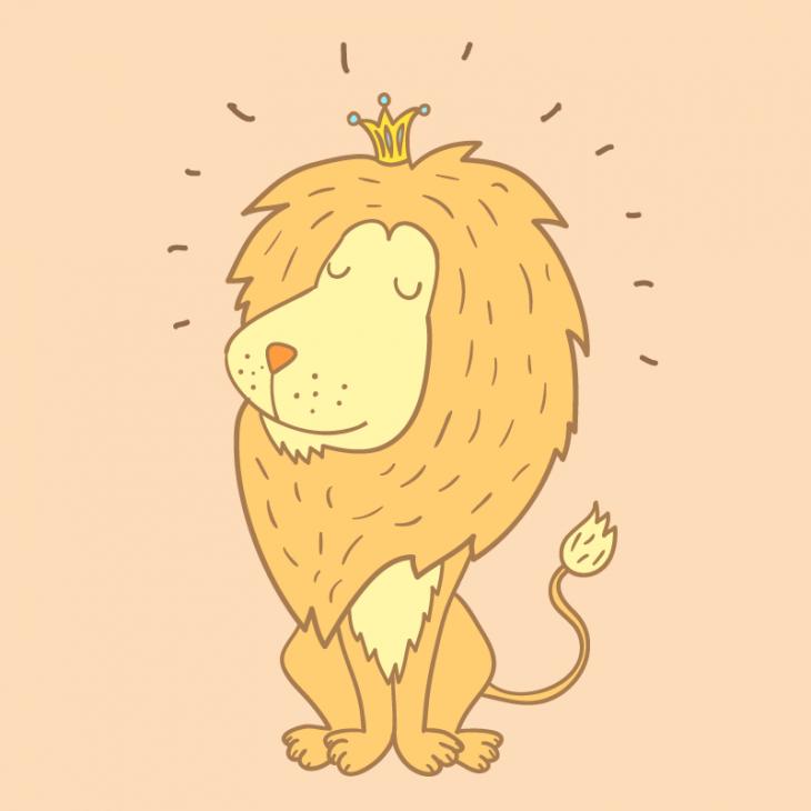Анекдот про прогулку царя зверей по лесу