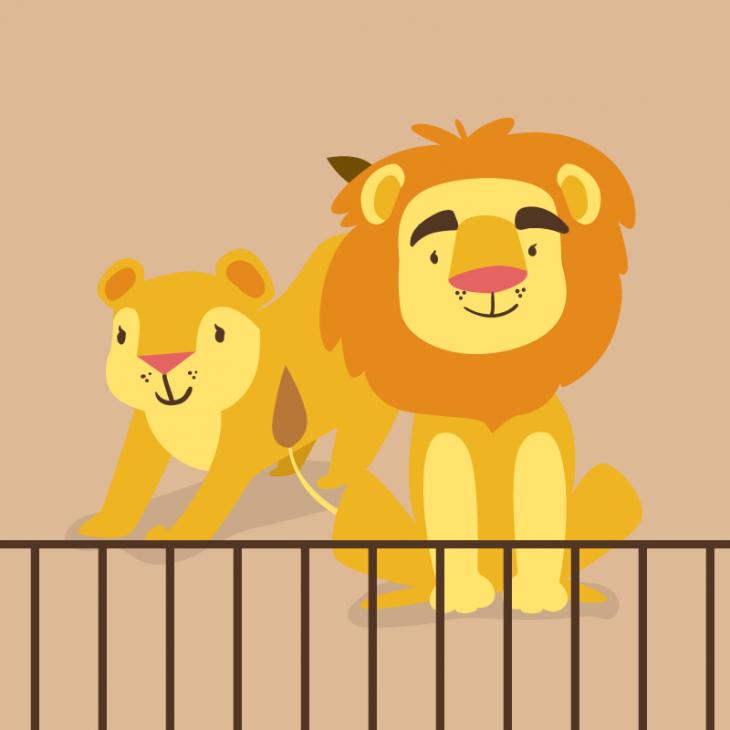 Анекдот про то, как Сима и Мойша гуляли по зоопарку