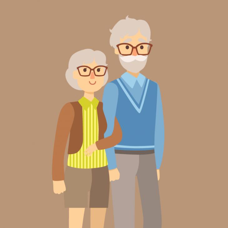 Анекдот про немецких супругов, проживших вместе 70 лет