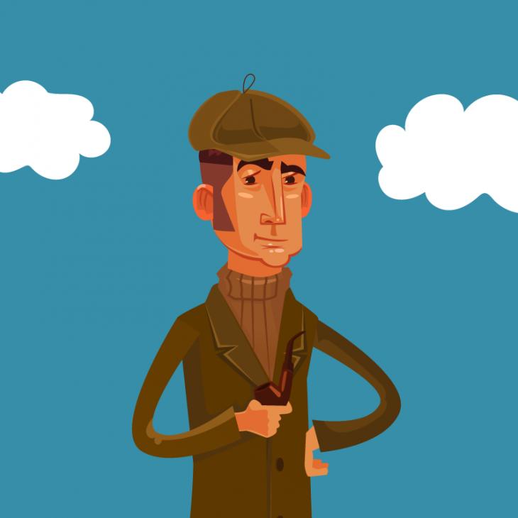 Анекдот про Шерлока Холмса и доктора Ватсона на воздушном шаре