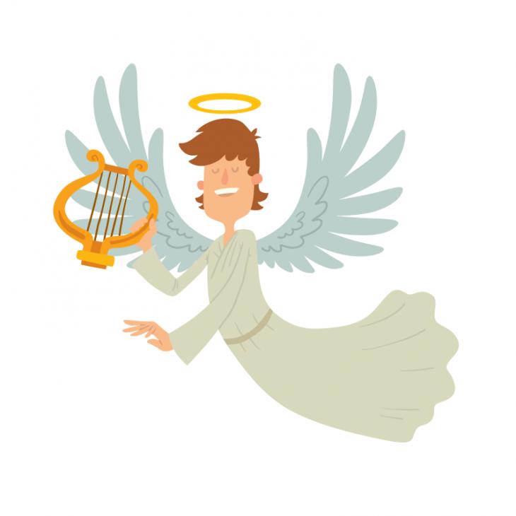 Анекдот о том, как мужику на небе «Мерседес» новый дали
