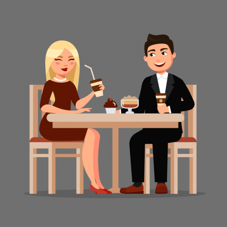 Анекдот о первом свидании парня и девушки