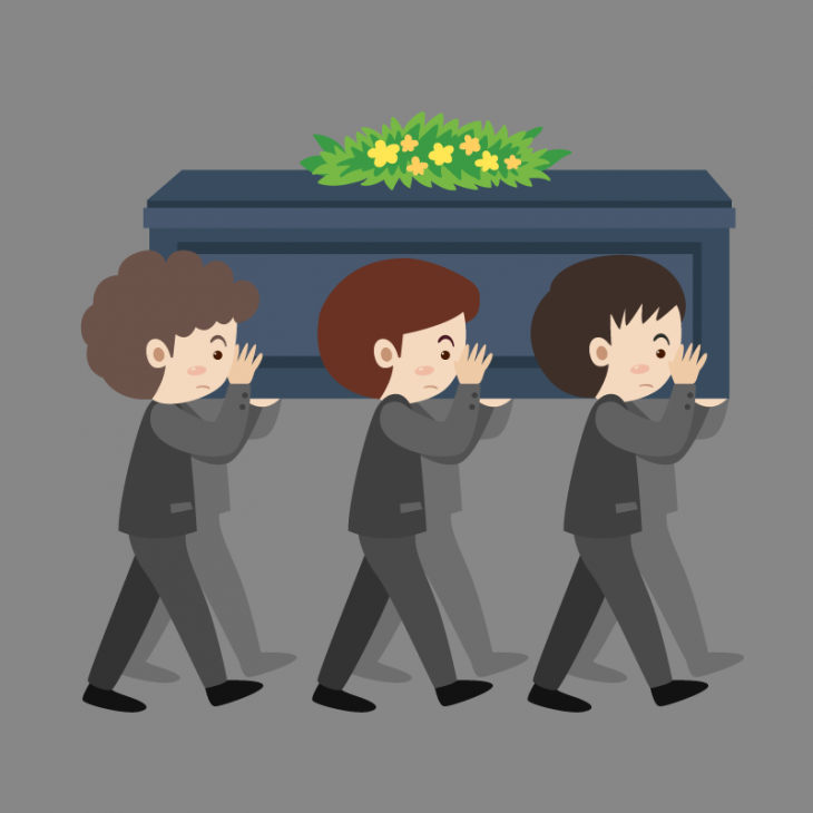 Анекдот про исполнение необычного пожелания напохоронах бандита