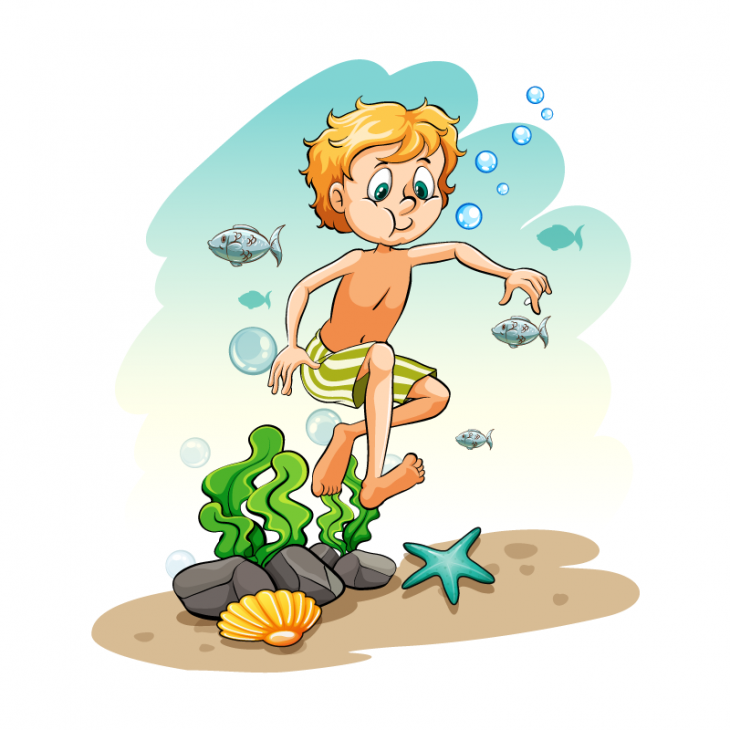 Анекдот про соревнования по задержке дыхания под водой