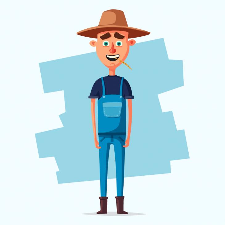 Анекдот про деревенского мужика, поражённого видом высотного дома