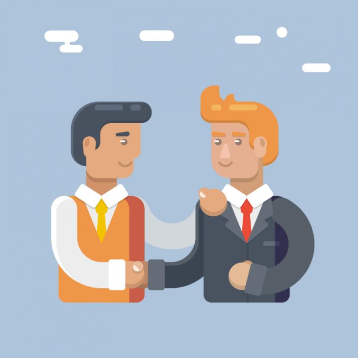 Анекдот про двух бизнесменов, решивших отказаться отпонтов