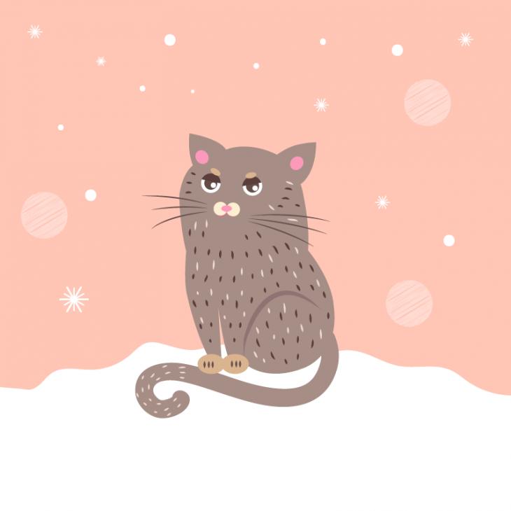 Анекдот про кота, который очень ждал весну