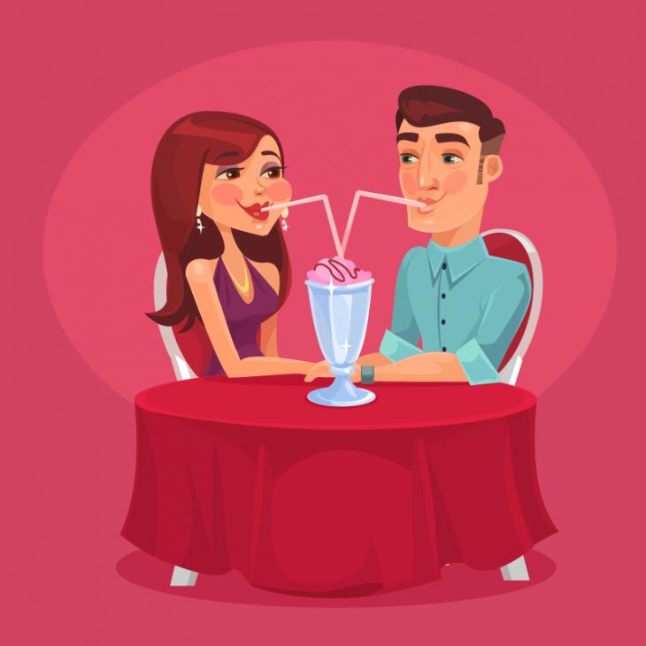 Анекдот о том, как девушки и парни приходят со свидания