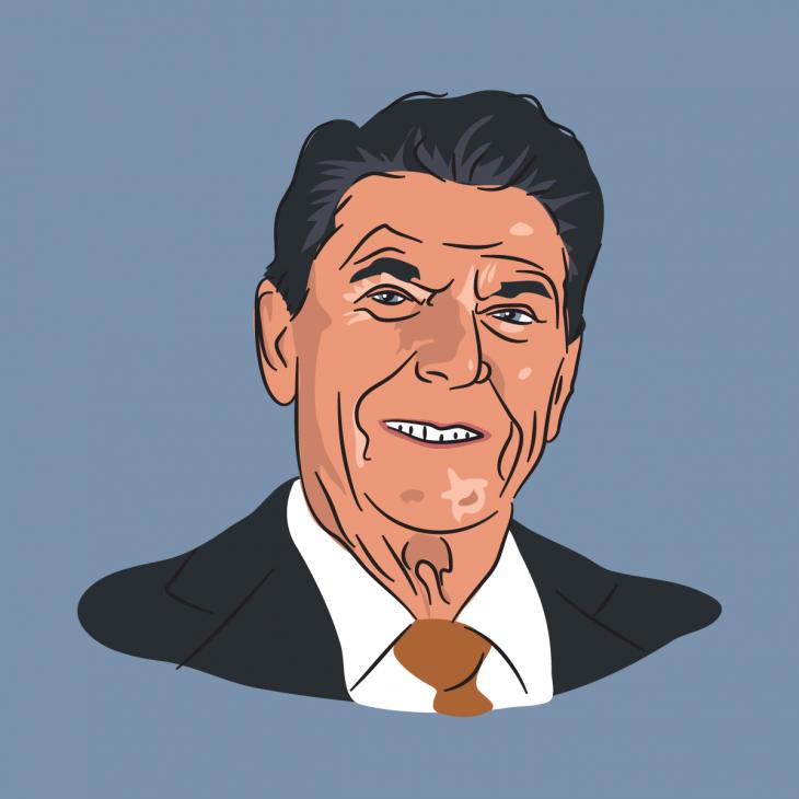 Анекдот про президента Рейгана иего страсть кувольнениям