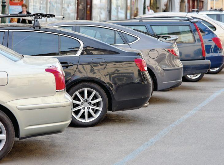 Автомобильная стоянка