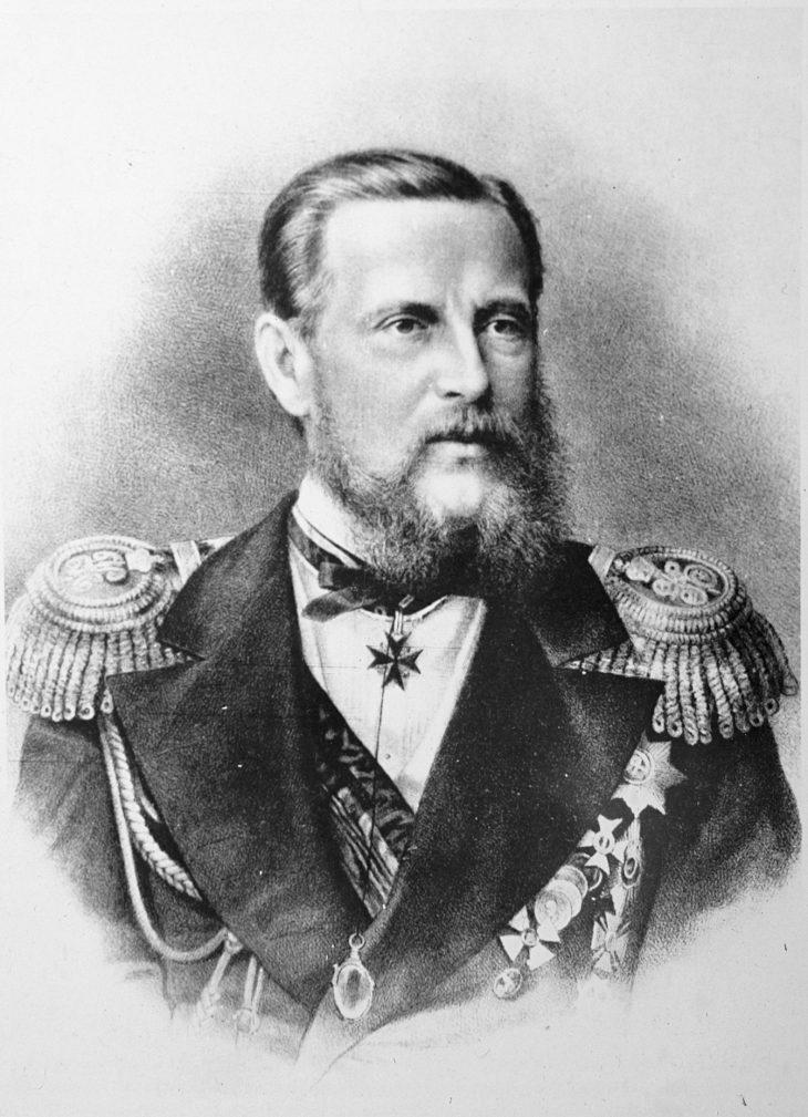 Портрет князя Константина Николаевича
