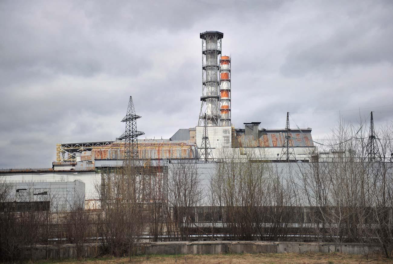 Атомная электростанция в Припяти
