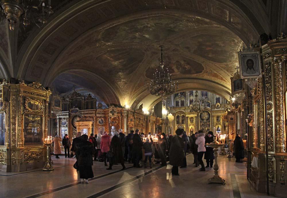 Внутреннее убранство Богоявленского собора