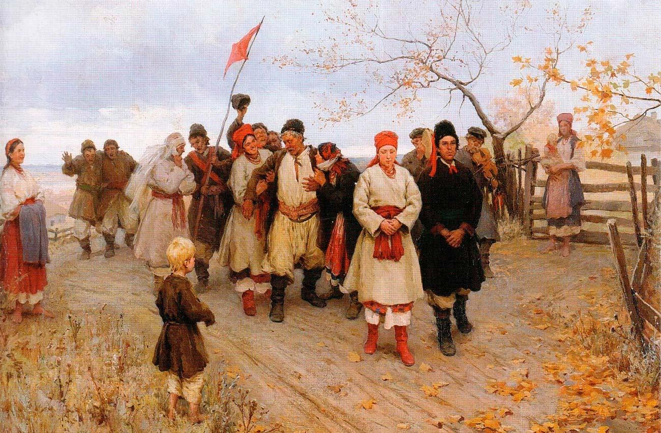 Свадьба вКиевской губернии