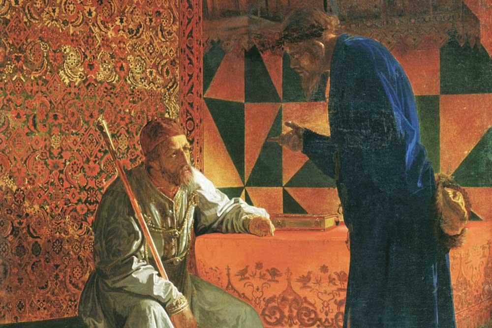 Картина «Иван Грозный и Малюта Скуратов»